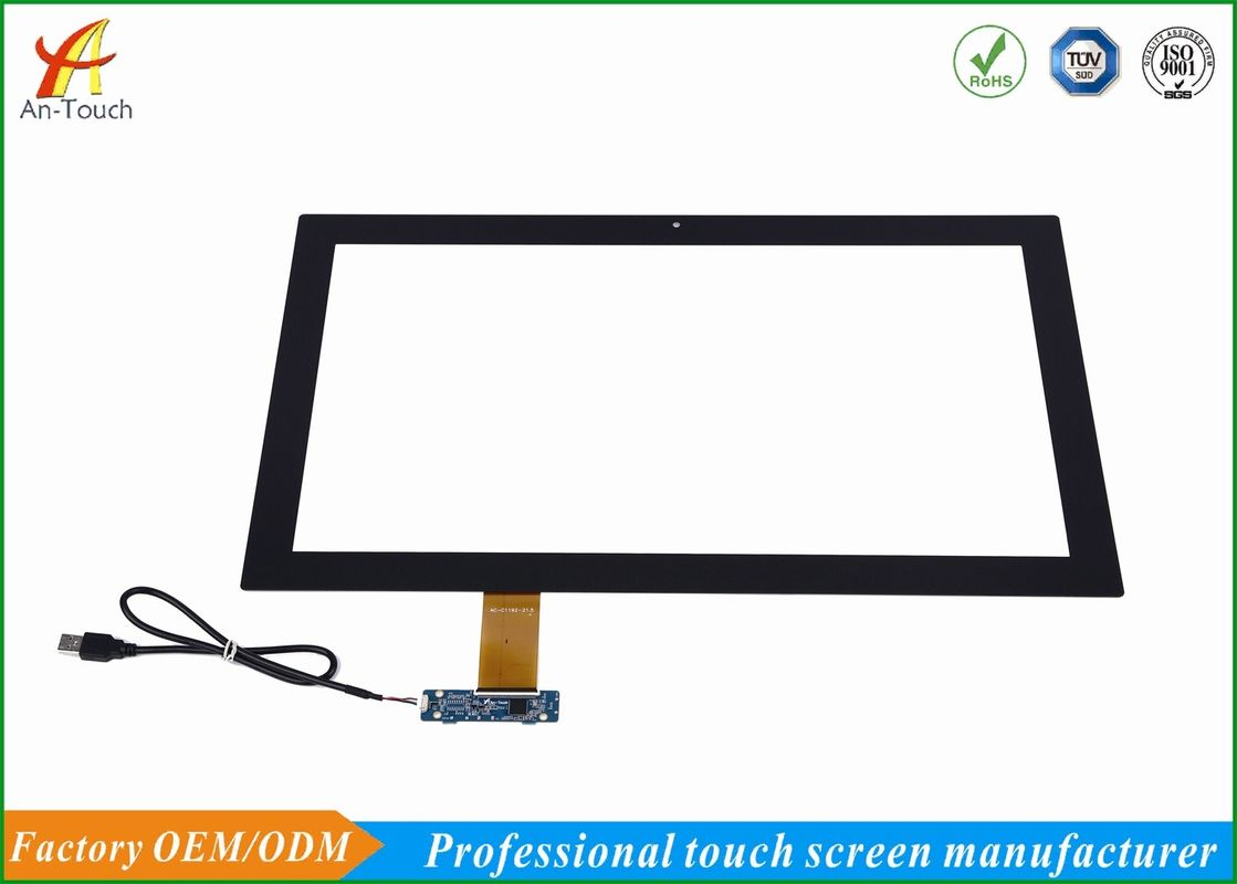 Capacitive 10 Point Smart Home Touch Panel , 21.5 Inch Touch Screen Overlay Kit